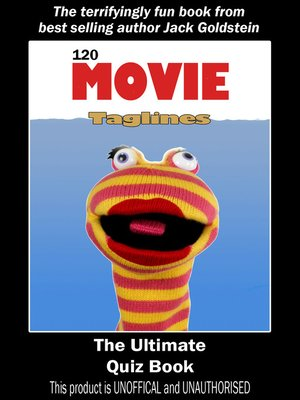 cover image of 120 Movie Taglines: The Ultimate Quiz Book
